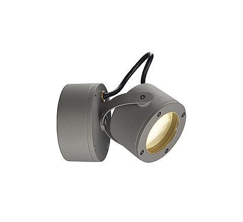 SLV 231514 Sitra 360 Wall lamp GX53 stone grey