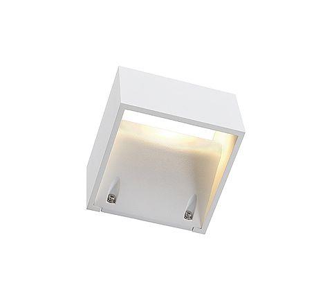 SLV 232101 LOGS WALL wall lamp Square White 6W LED Warm White