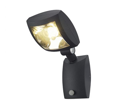 SLV 232405 MERVALED S anthracite 12W LED Warm White with motion sensor