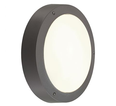 SLV 232425 DRAGAN SENSOR wall and ceiling luminaire anthracite E27