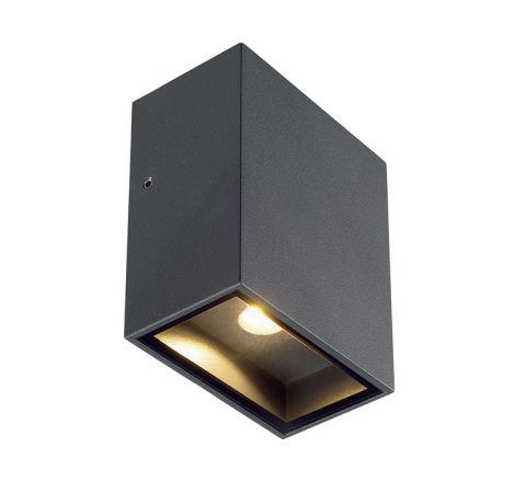 SLV 232435 Square anthracite 3.2W COB LED 3000K IP44