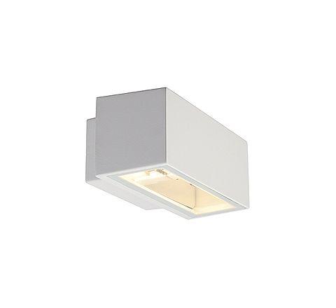 SLV 232481 BOX R7S wall lamp Square White R7s 80W