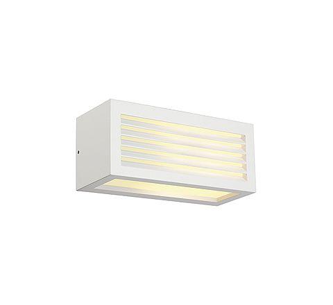 SLV 232491 BOX-L E27 wall lamp Square White E27