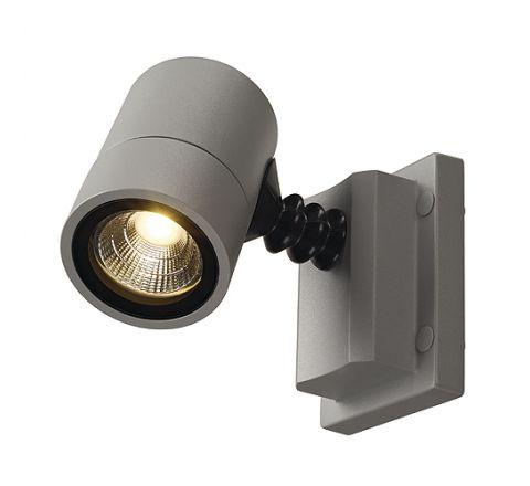 SLV 233204 MYRALED WALL Silver Grey 5W 3000K IP55