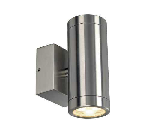 SLV 233312 2 x 3W LED 3000K stainless steel 316 IP44