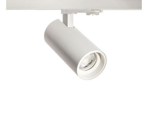 Tube GU10 White Multi Circuit Track Spot , Dimmable, Requires GU10 LED