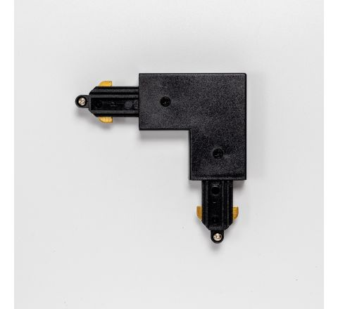 MLS 710026 L-Connector Earth Outside in Black for Single Circuit Track