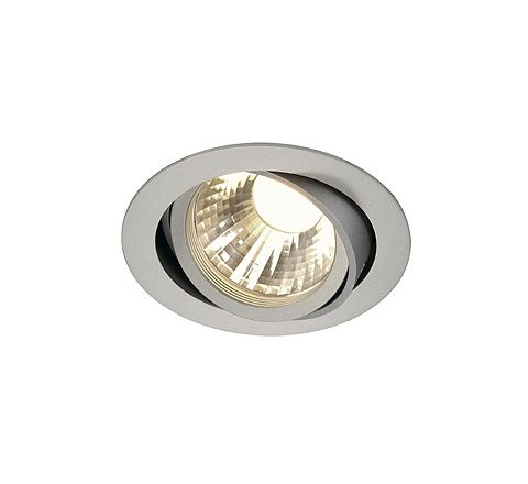 SLV 113584 New Tria LED DISK Adjustable 12W Silver 2700K