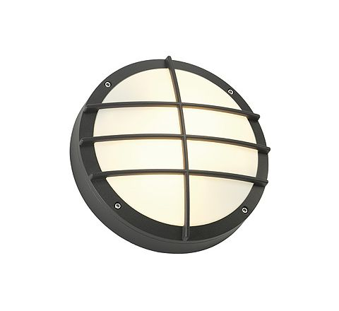 SLV 229085 BULAN GRID wall lamp anthracite E27