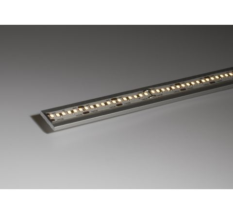 Aluminium Profile 15mm wide surface mount Single profile shallow finish 2m