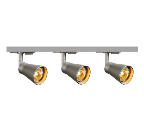 MLS 800102 Avo x 3 Track Kit Silver (1m Track Kit) Dimmable