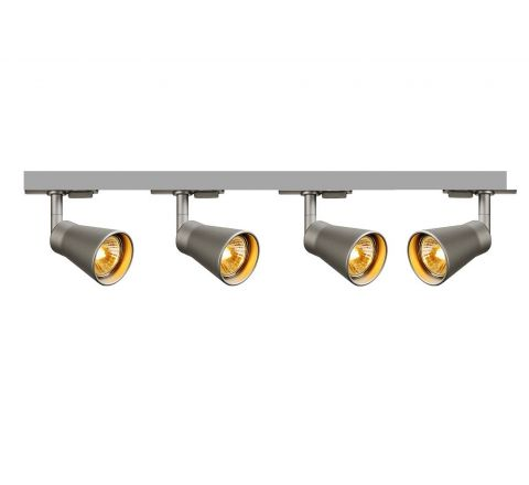 MLS 800112 Avo x 4 Track Kit Silver (2m track kit)) Dimmable
