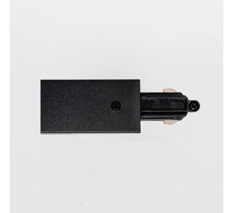 MLS 710016 Feed-In Left in Black for Single  Circuit Track