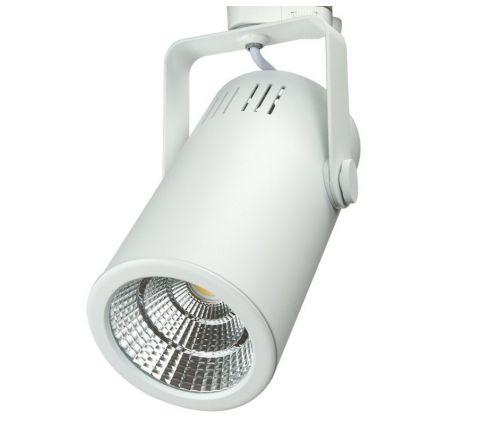 Lungo Multi Circuit LED Track Spot White