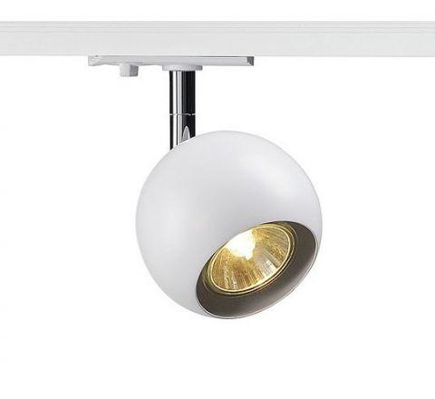 SLV 144011 Light Eye 90 White/Chrome Spot Light Dimmable, requires GU10 LED