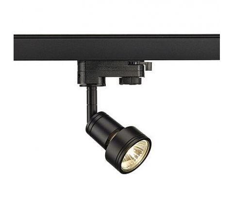SLV 153560 PURI lamp head Black, Dimmable, Requires GU10 LED