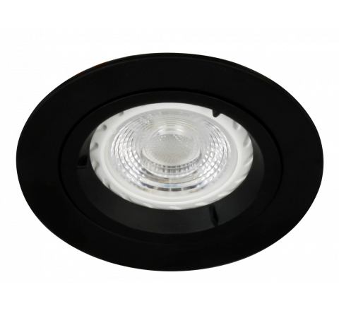 MLS DL490N Twist Lock Fixed Downlight, dimmable, requires GU10 lamp