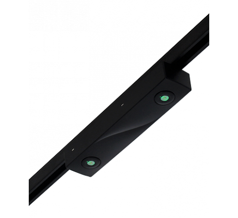Track Emergency LED Non Maintained Black (Suitable for several makes of 3 Circuit Track)