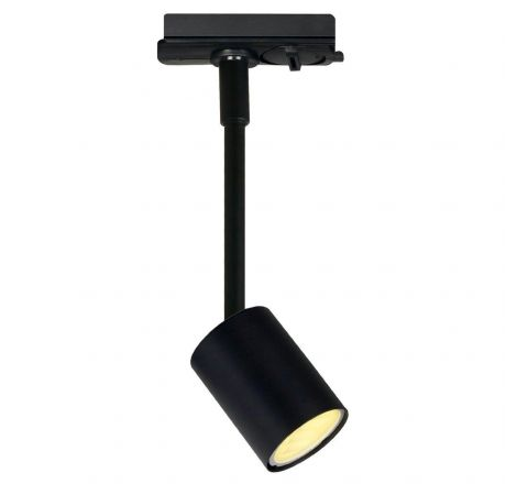 Explore Spot Black 225mm Stem Dimmable, requires GU10 LED