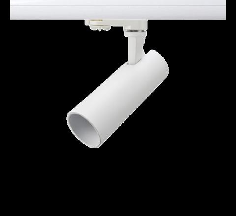 Tube 12W 850lm 3000K Matt White with White insert Dimmable