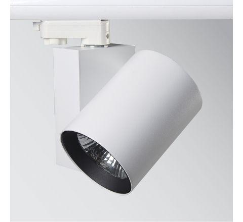 32W 2550lm 3000K LED Track Spot White CRI90