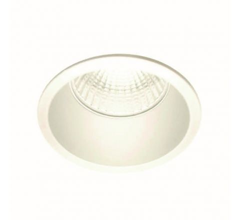 Inox S Trim White GU10 Downlight, Dimmable, Requires GU10 LED