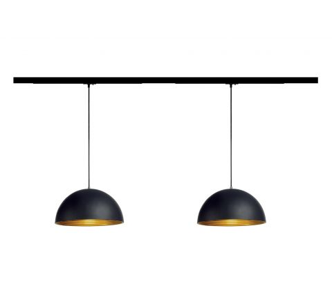 MLS 800045 2 x Forchini (2M Track Kit) Dimmable Black