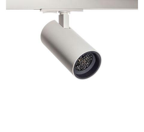 Tube GU10 Track Spot White with Black Bezel & Honeycomb for Single Circuit Track