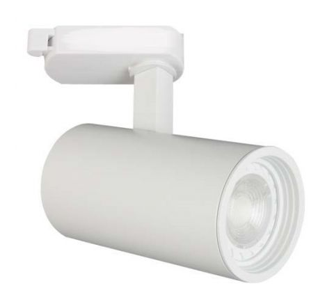 Shooter GU10 Track Spot White Dimmable requires a GU10 LED for FLT track only