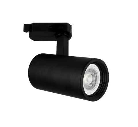 Shooter GU10 Track Spot Black Dimmable requires a GU10 LED for FLT track only