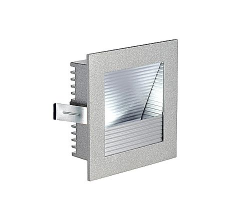 SLV 111292 FRAME CURVE LED 3000k Recessed Silver Grey, requires 350ma driver