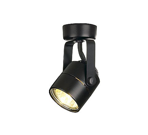 SLV 132020 Spot 79 Black, dimmable, requires GU10 lamp