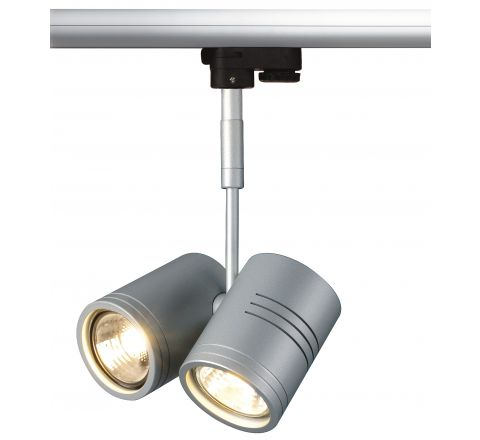 SLV 152232 Bima II GU10 Silver Grey LED, Dimmable, Requires GU10 LED