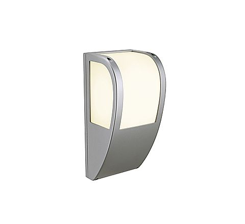 SLV 227174 Keras wall fitting for E27 bulbs Silver Grey