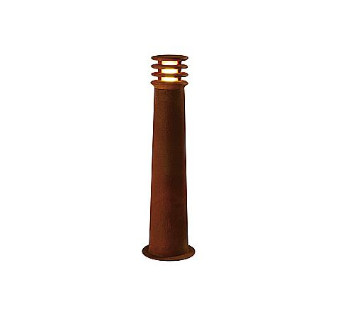 RUSTY Pole Light 70cm Rust