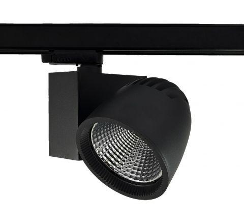 Kone Multi Circuit LED Track Spot Black CRI90 1100lm - 4000lm available