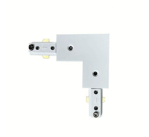 L Connector White