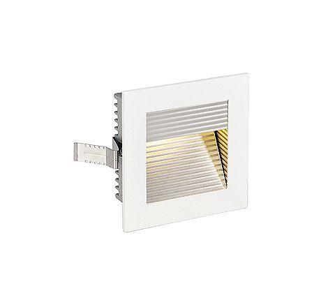 SLV 113292 FRAME CURVE LED Square Matt White LED 3000K, requires 350ma driver