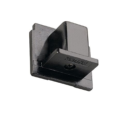 SLV 145590 EUTRAC End cap Black plastic