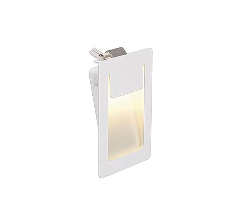 SLV 151951 DOWNUNDER PURE Recessed Square LED Warm White 80x120mm, requires 350ma driver