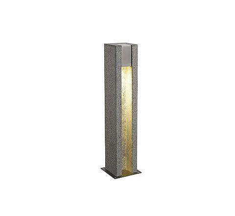 SLV 231440 ARROCK SLOT GU10 floor lamp Square granite salt & pepper GU10