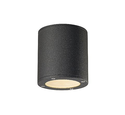 SLV 231545 SITRA CEILING luminaire Round anthracite GX53 9W