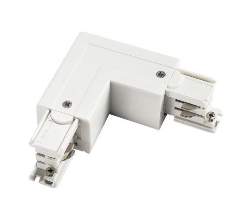 Powergear PRO-M438-W Earth Twisted L Connector White