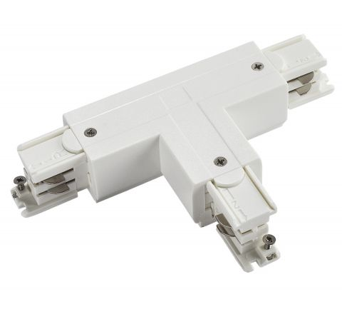 Powergear PRO-0436-L1-W T Connector Left 1 White