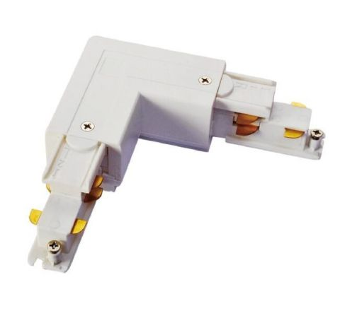 Powergear PRO-D635-L-W Earth Left L Connector White