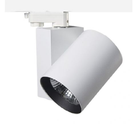 25W 2000lm 3000K LED Track Spot White CRI90
