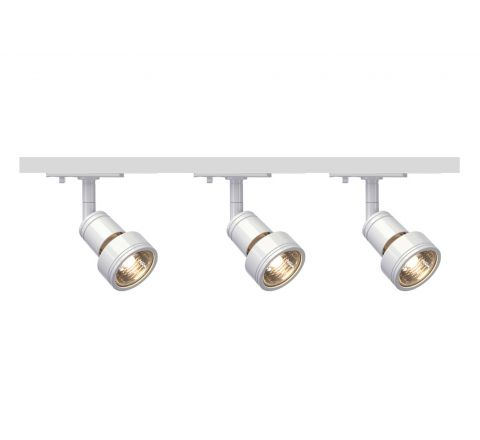 MLS 800098 Puri x 3 Track Kit White (1m Track Kit) Dimmable
