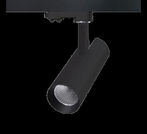 Tube 25W LED Black 1950lm CRI90 Multi Circuit Track Spot *SPECIAL OFFER*