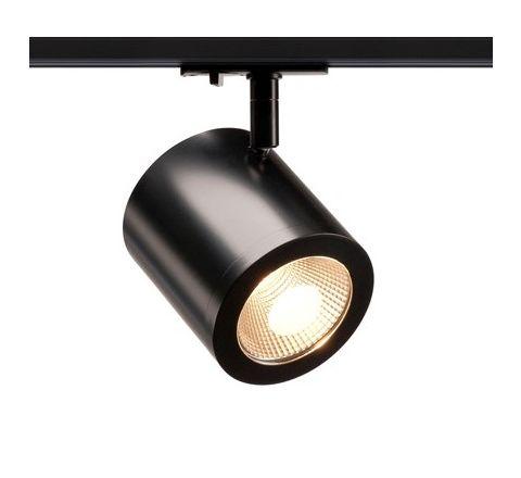 SLV 1000711 Enola C Black Track Light, 11W LED, 900lm, 3000k, 35 Degree