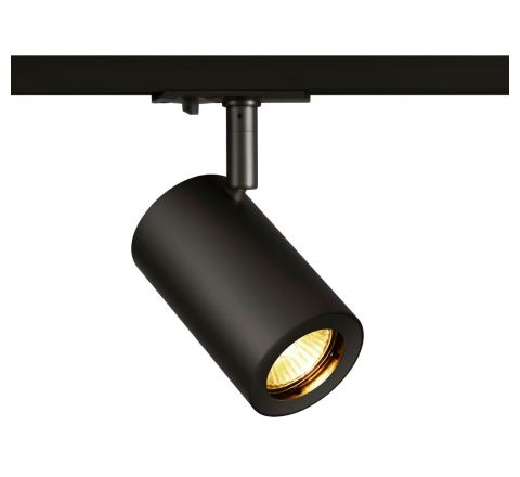 SLV 1002110 Enola B Track Black Dimmable, requires GU10 LED